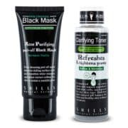 Black Peel-Off Mask and Toner